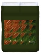 Brilliant Green Abstract 2 Duvet Cover