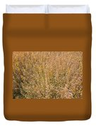 Brown Grass Texture Duvet Cover