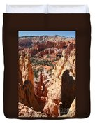 Bryce Canyon Overlook Duvet Cover