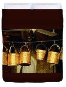 Buckets At Esfahan Market Duvet Cover