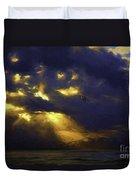 Byron Bay Sunset Duvet Cover