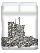 Cabot Tower Duvet Cover