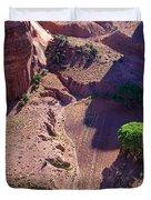 Canyon De Chelly Farmland Duvet Cover