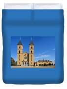 Cathedral Of The Plains Duvet Cover