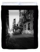Chinatown New York City - Mechanics Alley Duvet Cover