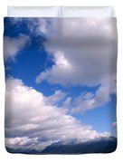 Clouds Over Lake Quinault Duvet Cover