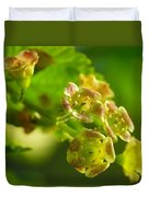 Currant In Bloom Duvet Cover