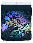 Cut Glass Mosaic  Duvet Cover
