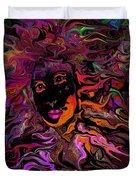 Desire On Fire Duvet Cover