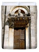 Doorway To The Duomo Duvet Cover