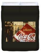 Drink Coca Cola  Memorbelia Duvet Cover