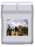 English Mastiff  - Mastiff Art Canvas Print - The Ruins Home Duvet Cover