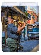 Feel It - Doreen's Jazz New Orleans 2 Duvet Cover
