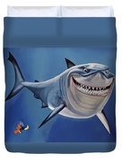 Finding Nemo Painting Duvet Cover