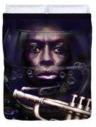 Fish Bowl Of Miles  Duvet Cover by Reggie Duffie