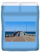 Fishing Pier Duvet Cover
