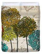 Floral Delight I Duvet Cover