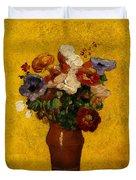 Flowers Duvet Cover by Odilon Redon