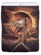 Frontispiece From 'europe. A Prophecy' Duvet Cover by William Blake