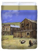 Ghost Town Of Bodie-california Duvet Cover