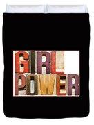 Girl Power Duvet Cover