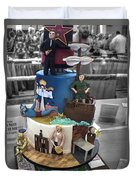 Grand National Wedding Cake Competition 741 Duvet Cover