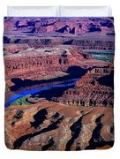 Grand View Point Overlook Duvet Cover