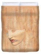 Head Of Proserpine Duvet Cover