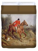 Hunting Scene Duvet Cover