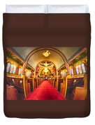 Interior Of  Holy Trinity Gre Duvet Cover