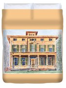 Italianate House Ny Duvet Cover