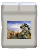 Japanese Spitz Art Canvas Print Duvet Cover