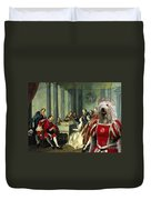 Komondor Art Canvas Print - Sextet Duvet Cover
