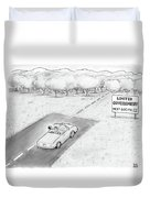 Limited Government Duvet Cover by Paul Noth