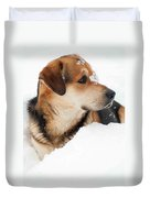 Look More Snow Duvet Cover