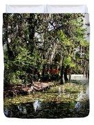 Magnolia Plantation Gardens Duvet Cover