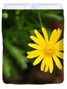 Marguerite Yellow Daisy Duvet Cover