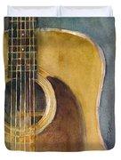 Martin Guitar D-28  Duvet Cover
