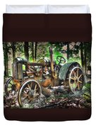 Mccormick Deering Tractor Duvet Cover