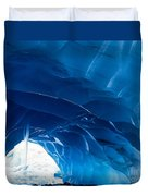 Melting Paradise Ice Cave Duvet Cover