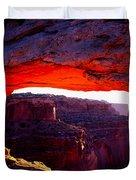 Mesa Arch Sunrise 2 Duvet Cover