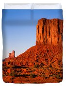 Monument Valley Sunset Duvet Cover