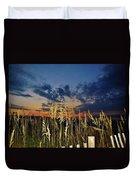 Morning Predawn  Avon Pier 7/26 Duvet Cover