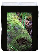 Mossy Dead Log Duvet Cover