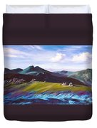 Mourne Mountains 1 Duvet Cover