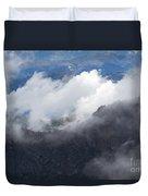 Mt. Bierstadt In The Clouds Duvet Cover