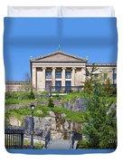 Museum Of Art Philadelphia Pa Duvet Cover by David Zanzinger