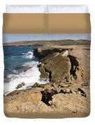 Natural Bridge Oranjestad Aruba Duvet Cover