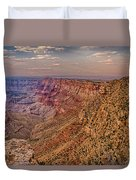 Navajo Viewpoint In Grand Canyon National Park Duvet Cover