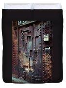 Nyc Designer's Dungeon Door Duvet Cover